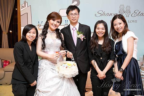 哈妮熊機器人主題婚禮-婚禮顧問@宜蘭詩藝
