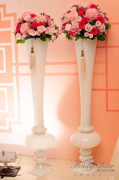 哈妮熊蘇州粉橘色主題婚禮@國賓國際廳-5583.jpg