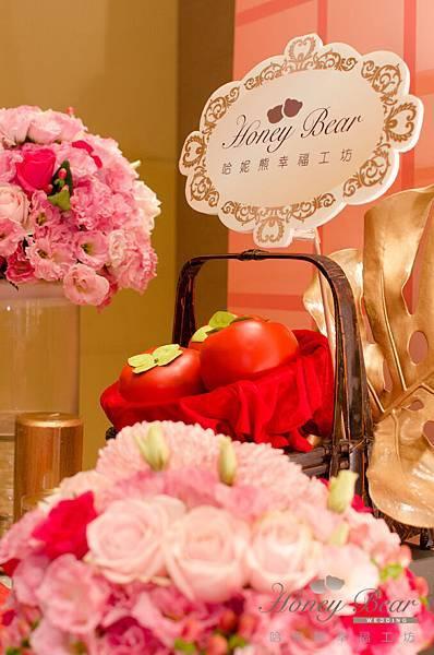 哈妮熊蘇州粉橘色主題婚禮@國賓國際廳-5574.jpg