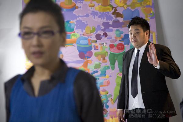田由美:『常谷川同學..』常谷川:『右..教授我在這』