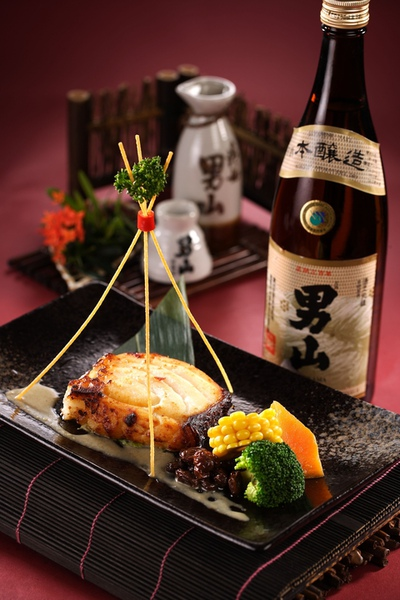 西京燒+男山本釀造