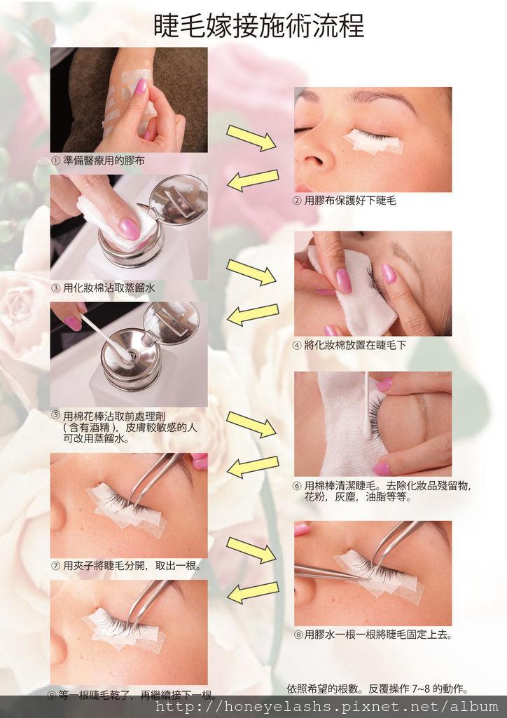 睫毛嫁接流程