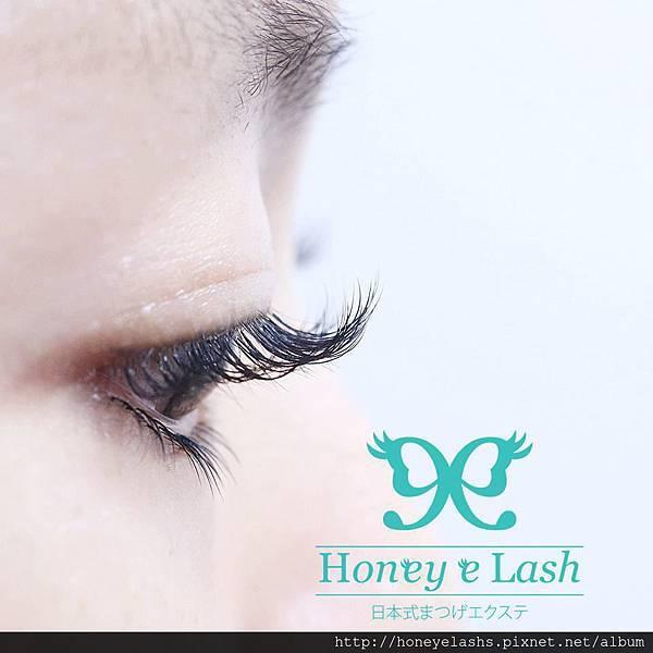 Honey e lash 自然清晰140本