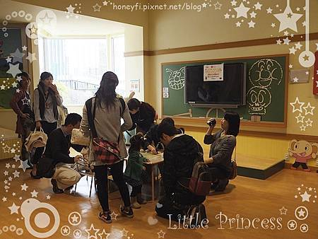 咪咪老師的教室,每天都有不同的免費手工勞作。
