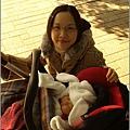 散步+媽媽