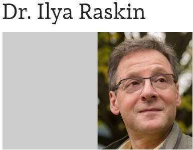 Dr.Ilya Raskin