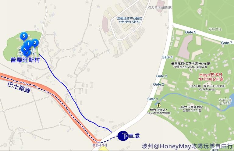 坡州MAP