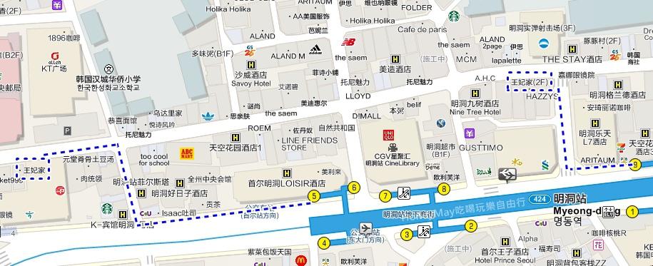 王妃家map1