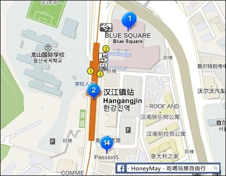 漢江鎮MAP