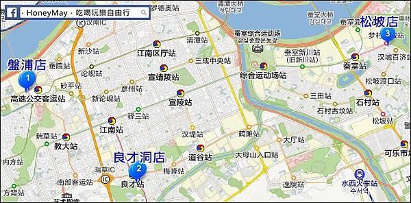 山坪海MAP