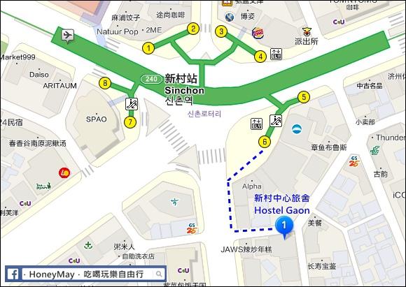 新付旅社map