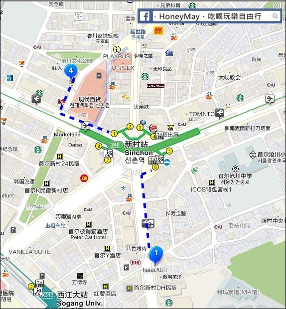 ISAAC MAP