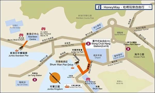 20181022 珍寶海鮮舫map