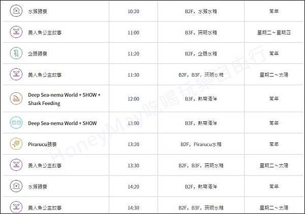 1-20190523 釜山Sea Life 表演時間表.jpg