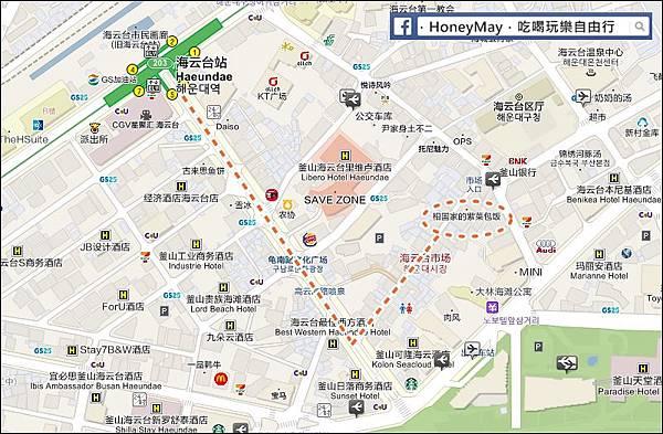 20190522 釜山海雲台市場MAP