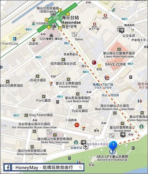 1-20190523 釜山Sea Life map