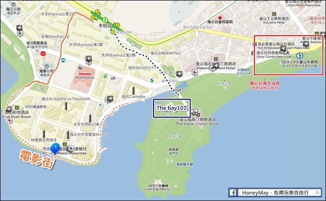 2019.522-526釜山海雲台電影大道MAP2