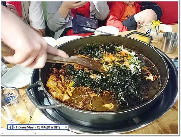 DSC_1047釜山美食白鐵板辣炒雞.JPG