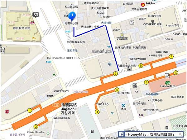 20190525 海田烤腸-MAP