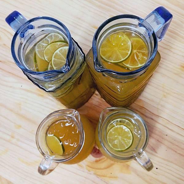 蜂蜜檸檬調製-放置10天後的蜂蜜檸檬1