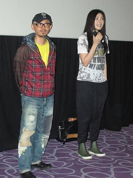 0429.導演陳宏一,Peggy(曾珮瑜)@信義威秀