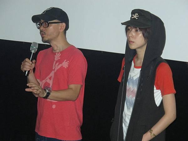 4/30.導演陳宏一&仔仔@絕色影城