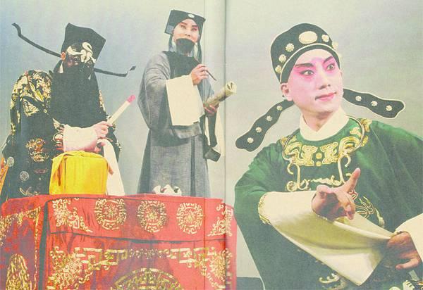 5_(左起)丁揚士飾包拯、唐文華飾關漢卿、趙揚強飾魯齋郎