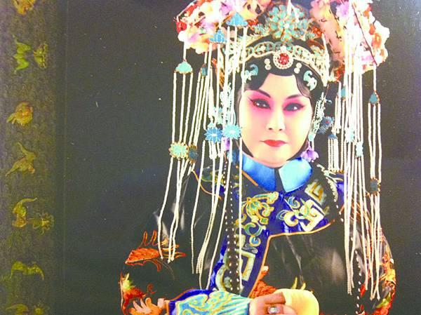 8_趙如意飾演慈禧太后的造型