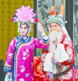 8_《珠簾寨》劇照,(左起)張慧芳、杜鎮傑