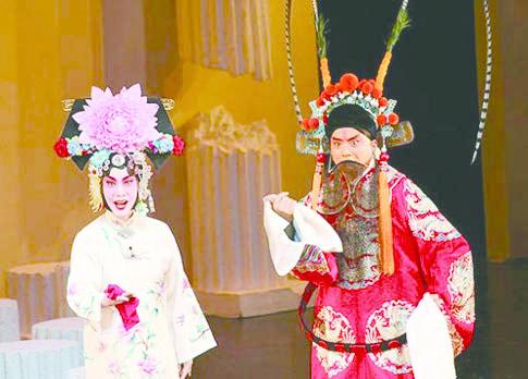 8_四郎探母劇照,(左起)王蓉蓉、杜鎮傑