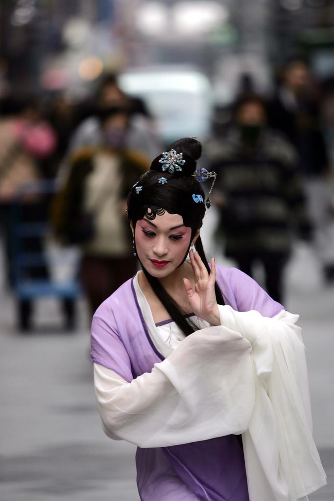 國光劇團 《青春謝幕》主演朱勝麗