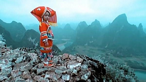 5壯族女兒登高唱山歌