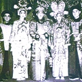 6_顧劇團演出《董小宛》劇照,(右起)胡少安、顧正秋、李金棠、張正芬、王質彬.jpg