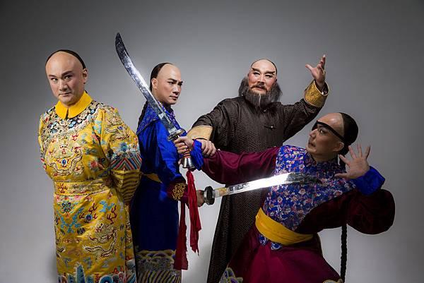 國光大戲《康熙與鰲拜》由溫宇航(左一)、唐文華(右二)主演。.JPG