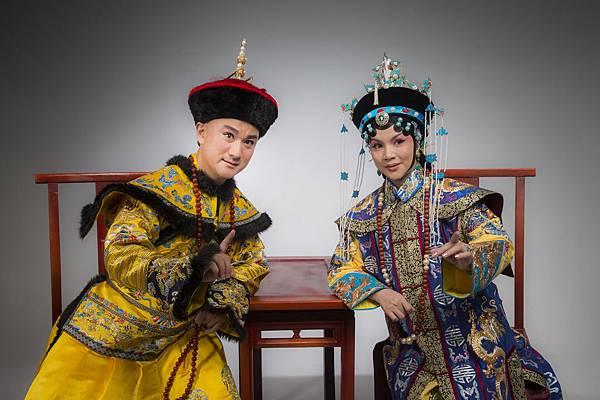 程派青衣王耀星(右)將飾演11月28日及巡演場的孝莊太皇太后.JPG