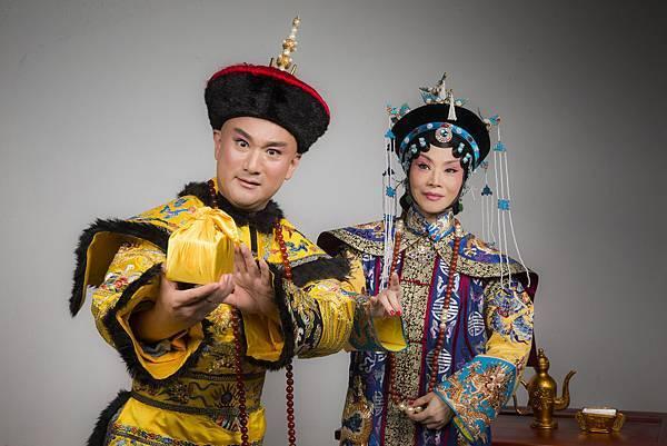 國光一等演員劉海苑(右)將飾演11月29至30日的孝莊太皇太后.JPG
