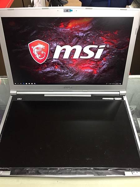 MSI PE72 7RD 更換螢幕-後.jpg