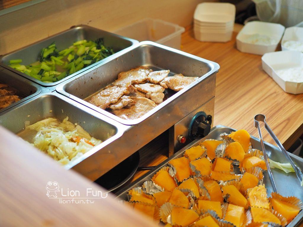 知慶飯糰菜色
