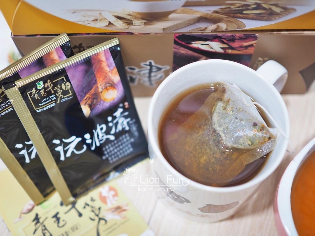 青玉牛蒡茶
