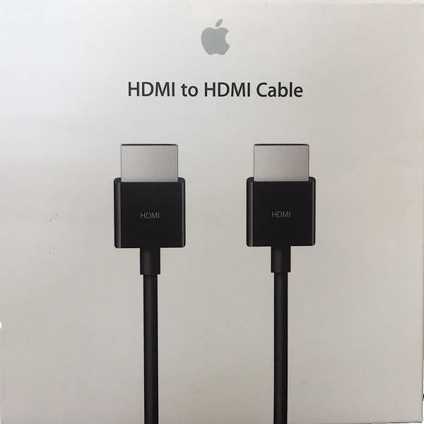 Apple 原廠HDMI傳輸線