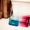Aprolink iPhone6-藍-漸層透明-硬殼背蓋