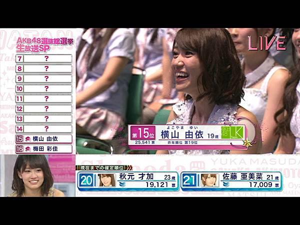 AKB48 4th Senbatsu Sousenkyo SP 2012.06.06.ts_20120609_150521