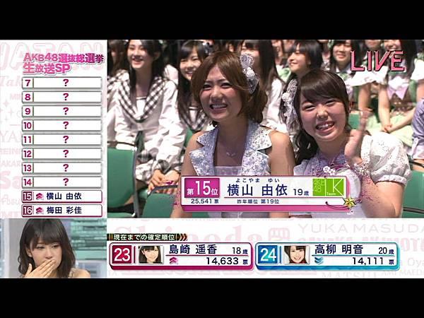 AKB48 4th Senbatsu Sousenkyo SP 2012.06.06.ts_20120609_150526