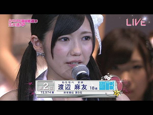 AKB48 4th Senbatsu Sousenkyo SP 2012.06.06.ts_20120609_150758