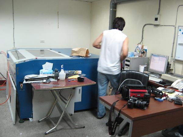 錡鋒國際 雷射雕刻機