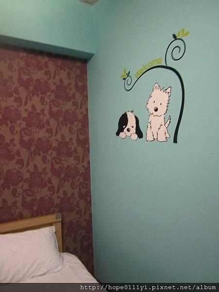 牆壁很可愛