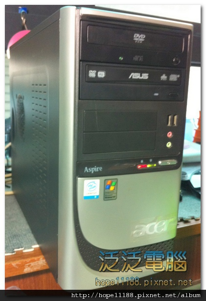[維修]宏碁 ACER Aspire SA80 「系統異常 + 還原錯誤」
