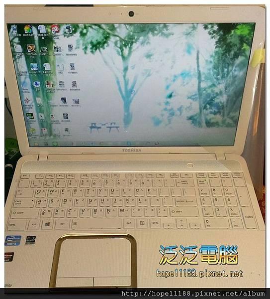 [維修]東芝 Toshiba L-850「面板破裂」