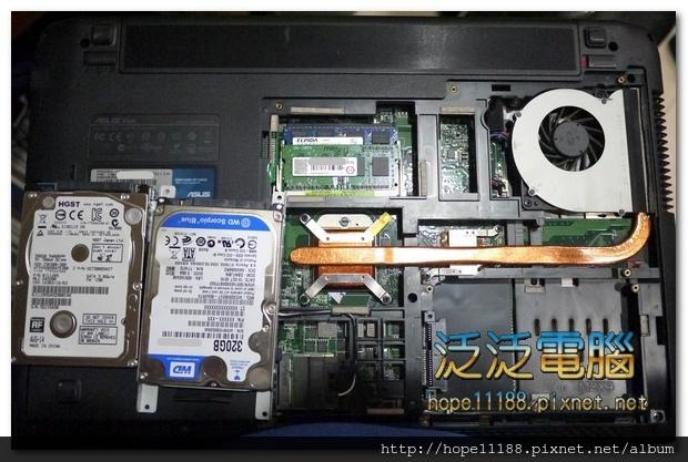 [維修]華碩 ASUS K52N 「更換硬碟」