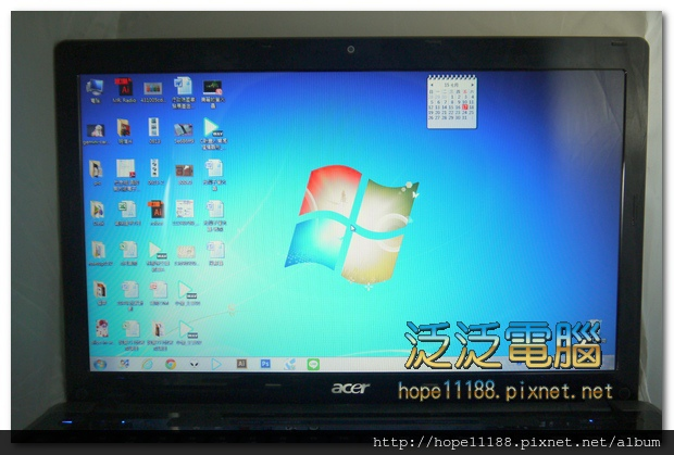 宏碁 Acer aspire 5820TG 「面版破裂更換」